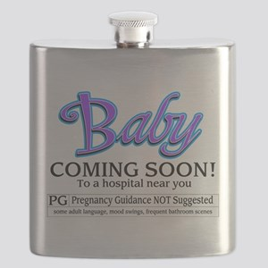 Baby - Coming Soon! Flask