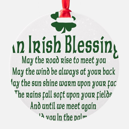 an old irish blessing.png Ornament