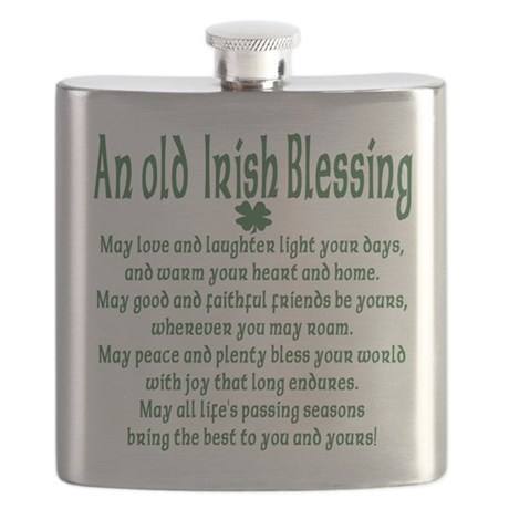 an old irish blessing Flask