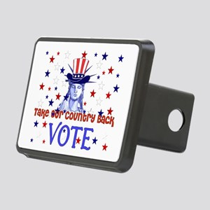 vote_election2008_03 Rectangular Hitch Cover