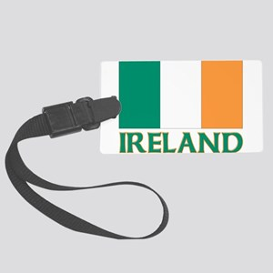 Irish flag Large Luggage Tag