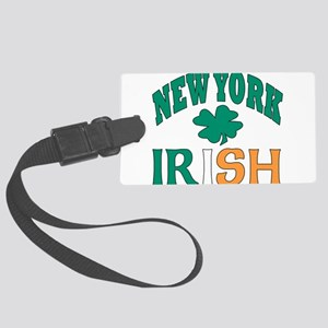 New York irish Large Luggage Tag