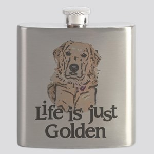 Life is Just Golden Flask