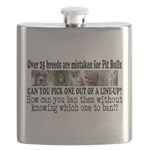 Doggie Line-up Flask