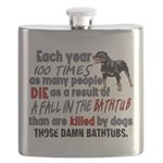 Killer Bathtubs Flask