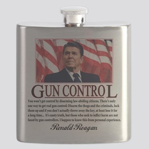 ronald reagan guncontrol Flask