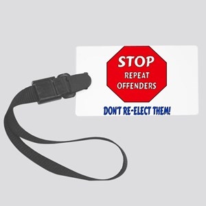 antirepublican01 Large Luggage Tag