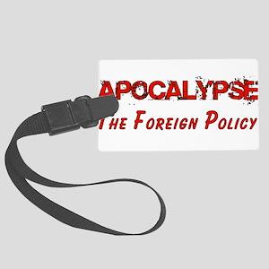 apocalypse01 Large Luggage Tag