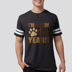 60th Birthday Dog Years Mens Football Shirt