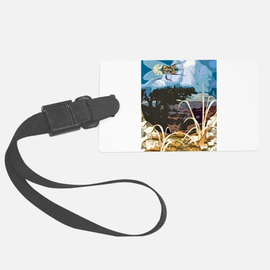invasion01.png Luggage Tag