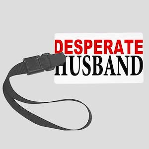 husband Large Luggage Tag