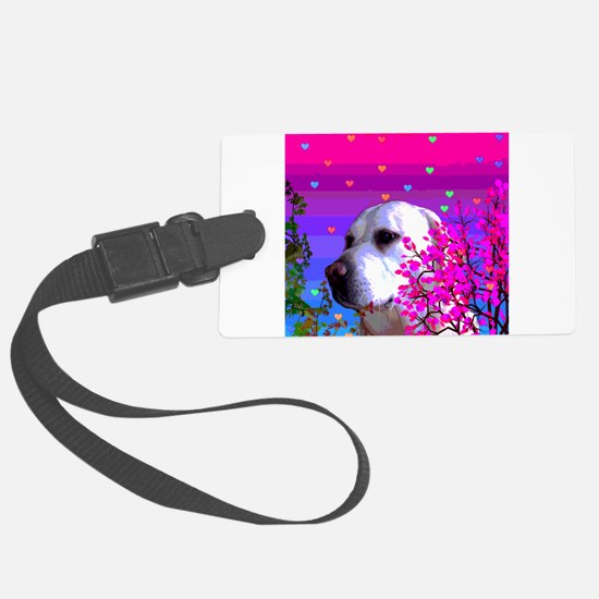 Golden Labrador Retrievers Luggage Tag