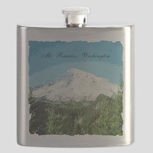 Mt. Rainier #2 Flask