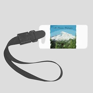 Mt. Rainier #2 Small Luggage Tag