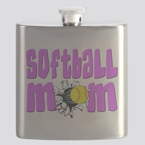 Softball mom Flask