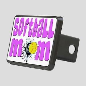 Softball mom Rectangular Hitch Cover