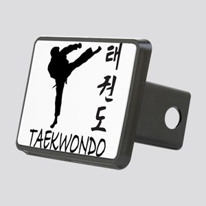 old tae kwon do(pink) Rectangular Hitch Cover