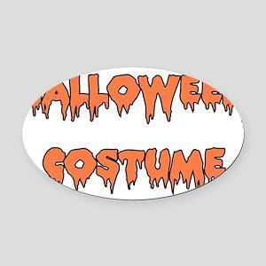 halloween_costume01 Oval Car Magnet
