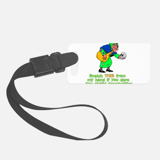 halloween_witch01.png Luggage Tag