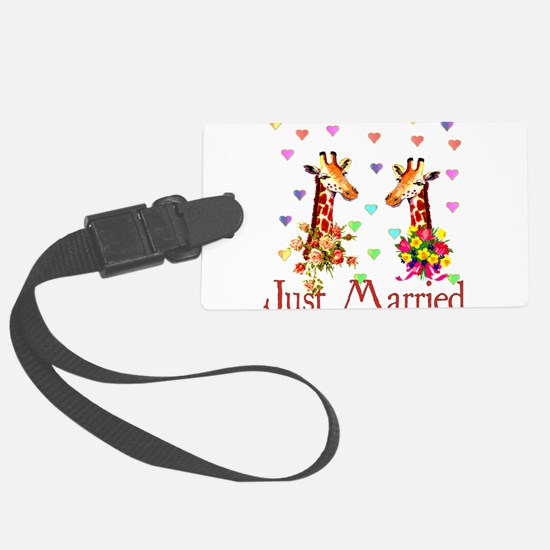 just_married01.png Luggage Tag