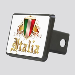 italy T-Shirt Rectangular Hitch Cover