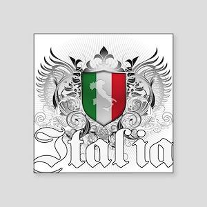 """italia_a Square Sticker 3"""" x 3"""""""