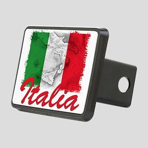 italia rectangle sticker Rectangular Hitch Cov