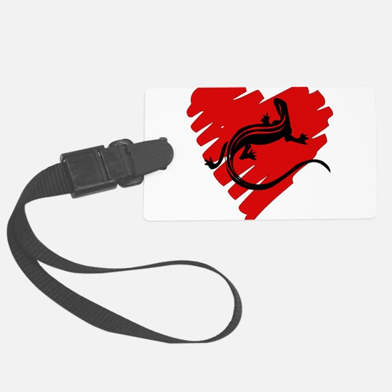 newt_heart01.png Luggage Tag