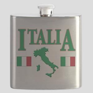 Italia(blk) Flask