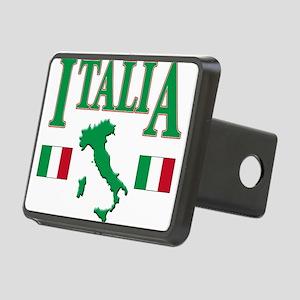 Italia(blk) Rectangular Hitch Cover