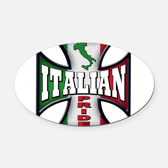 italy T-Shirt.png Oval Car Magnet