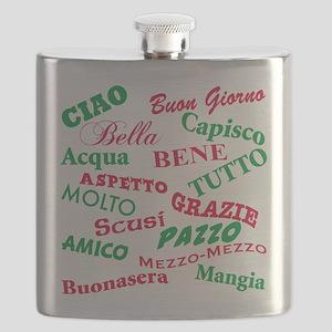 Italian sayings T-Shirt Flask
