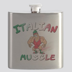 Italian muscle T-Shirt Flask