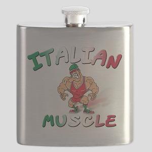 Italian muscle T-Shirt Flask