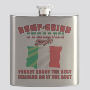 Bump and Grind Italian style T-Shirt Flask