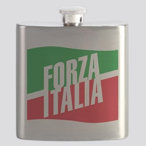 forza azzurri (blk) Flask