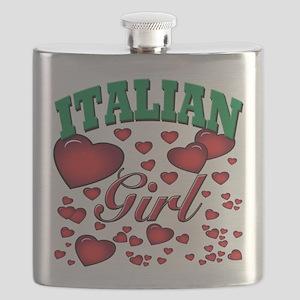 italian princess(blk) Flask