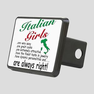 4-3-ITALIAN GIRLS Rectangular Hitch Cover