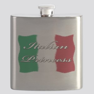 Italian princess(white) Flask