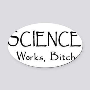science01 Oval Car Magnet