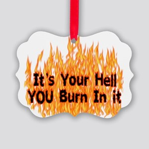hell01 Picture Ornament