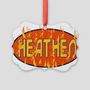 heathen01 Picture Ornament