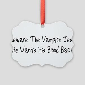 vampire01 Picture Ornament