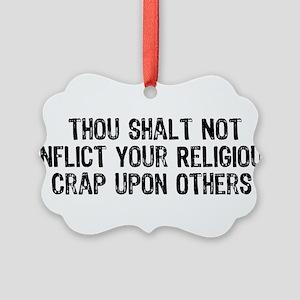 religious_crap01 Picture Ornament
