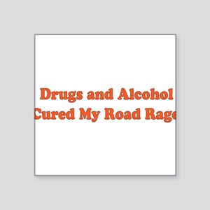 "aa_drugs01 Square Sticker 3"" x 3"""