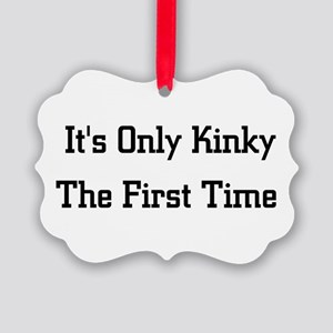 kinky01 Picture Ornament
