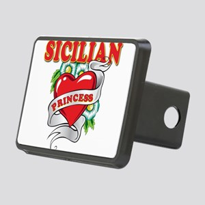 sicilian princess Rectangular Hitch Cover
