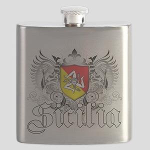 3-sicilian pride Flask
