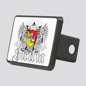 3-sicilian pride Rectangular Hitch Cover