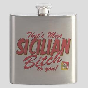 sicilian bitch T-Shirt Flask
